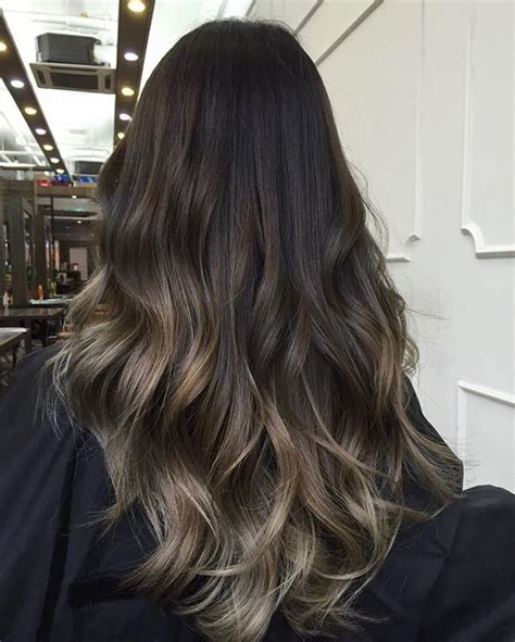 ombre hair growing out the 25 best dark balayage ideas on pinterest