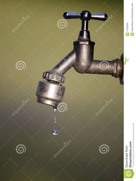 Fashioned Water Faucet by Details Of Faucet Royalty Free Stock Images