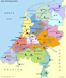 Holland World Map by World Map The Netherlands