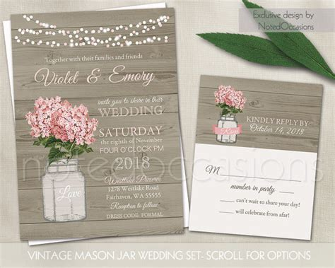printable wedding invitations country rustic wedding invitation printable country by notedoccasions