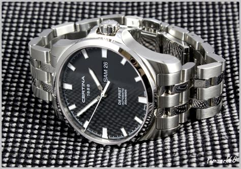 Certina C0144071105100 Automatic Swiss Made Original yet another this or that seiko sarx015 vs certina ds day date