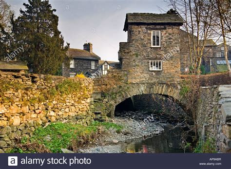 houses to buy cumbria bridge house over stock beck lake district national park cumbria stock photo