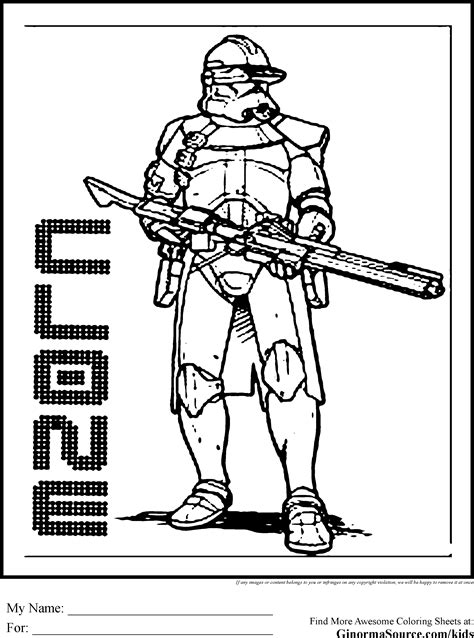 Wars Clone Trooper Coloring Pages Star Wars Coloring Pages Clone Coloring Pages by Wars Clone Trooper Coloring Pages