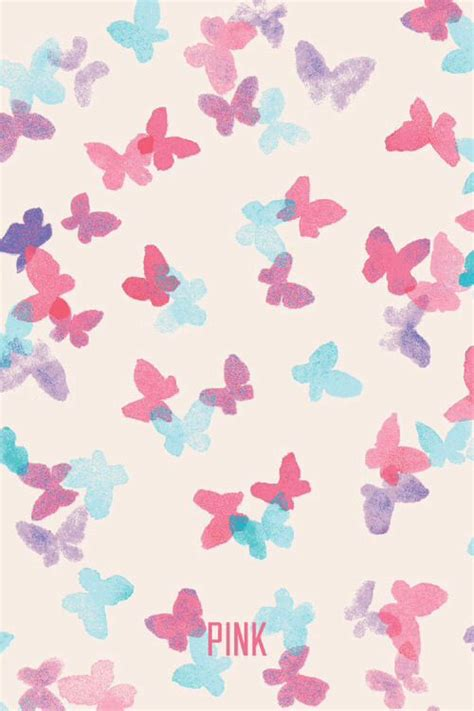 wallpaper iphone we heart it mixerlittlegirl butterfly pink vs wallpaper on we heart
