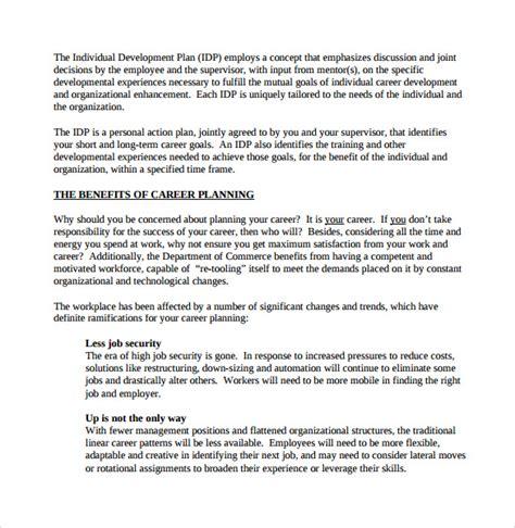 career plan templates sle career plan 9 documents in pdf word