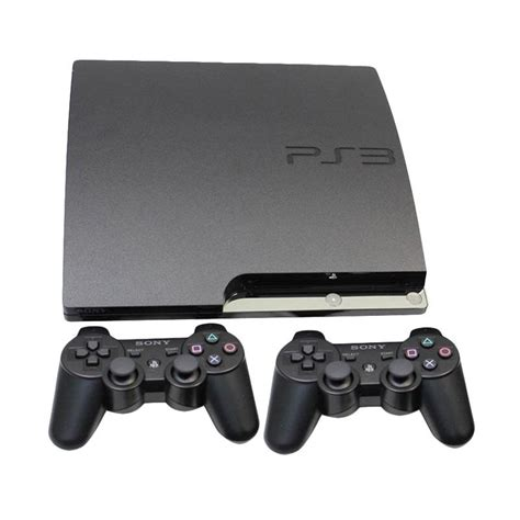 Playstation Ps3 Sony Hdd 320gb Stick Wireless Harga Murmer Jual Sony Ps3 Slim With 2 Stick Wireless Hdd 500gb