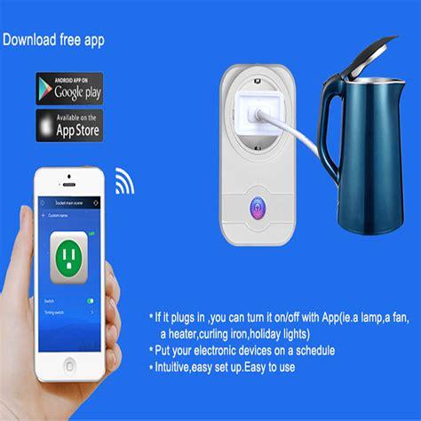 wifi fan control alexa wifi smart plug works with amazon alexa control devices