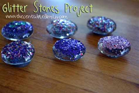 Glitter Stones Frugal Crafts The Centsible Family