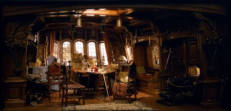 pirate ship captains cabin