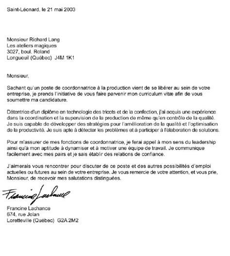 Lettre De Présentation Uottawa Lettre De Presentation 5 Citoyen Du Monde
