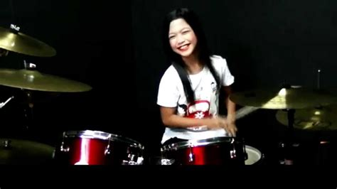 Syahira Maxy 真的爱你 beyond i really you drum cover by nur