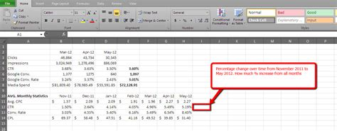 tutorial excel calculation how to calculate percentage in spreadsheet excel