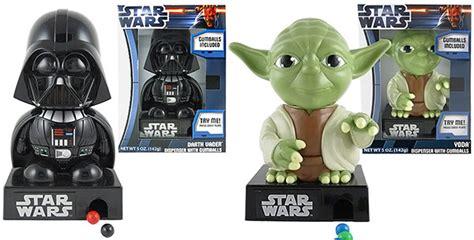 star wars darth vader and yoda gumball dispensers