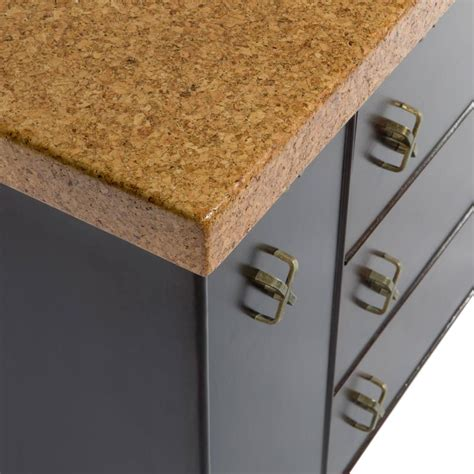 cork top sideboard by paul frankl for johnson furniture