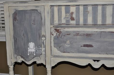 painted buffet vintage charm restored