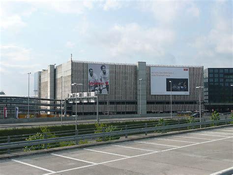 Large Garage Richard Rogers Partnership Zurich Parking Zurich Airport