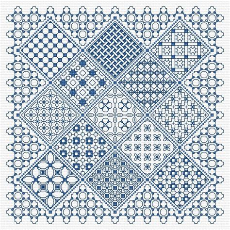 blackwork pattern dizzying blackwork pattern embroidery pinterest