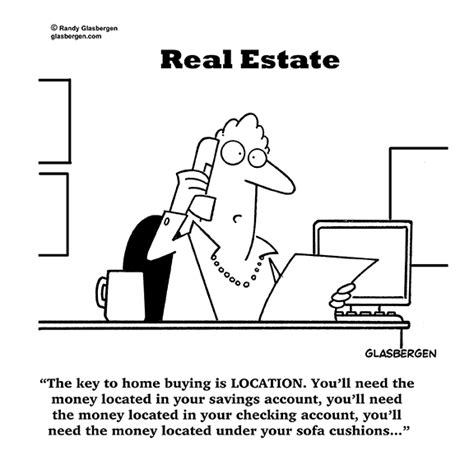 free money for buying a house real estate cartoons randy glasbergen glasbergen
