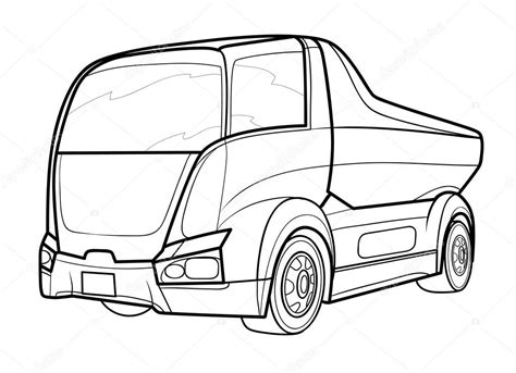 Truck Outline by Truck Outline Pictures To Pin On Pinsdaddy
