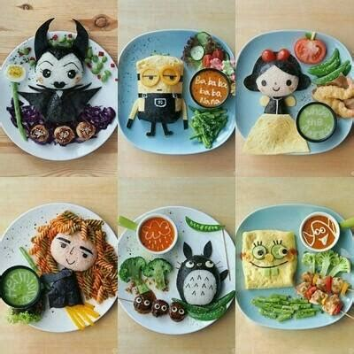 kreasi sajian makanan unik   kecil  susah makan
