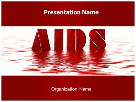powerpoint templates free hiv free aids powerpoint template freetemplatestheme
