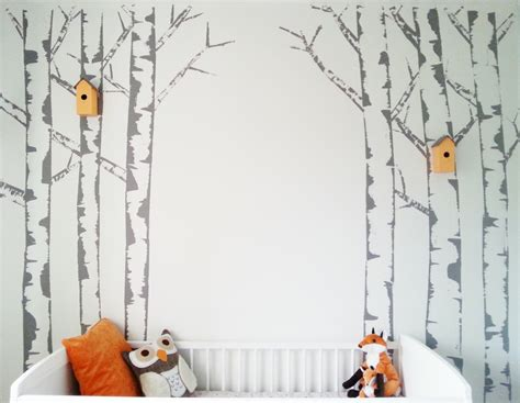 trees on wall if you go to the wood s today make do and diy