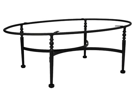 Wrought Iron Coffee Table Base with Meadowcraft Athens Wrought Iron Coffee Table Base 3613370 01