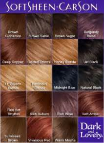 Dark n lovely hair color chart helps you determine hair color hair