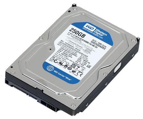 Hdd Wd 250gb storage drives wd caviar blue wd2500aakx 250gb 7200rpm 16mb cache sata 6 0gb s 3 5