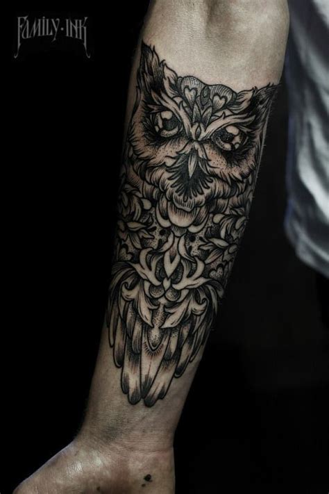 owl forearm tattoo 25 best ideas about geometric owl on