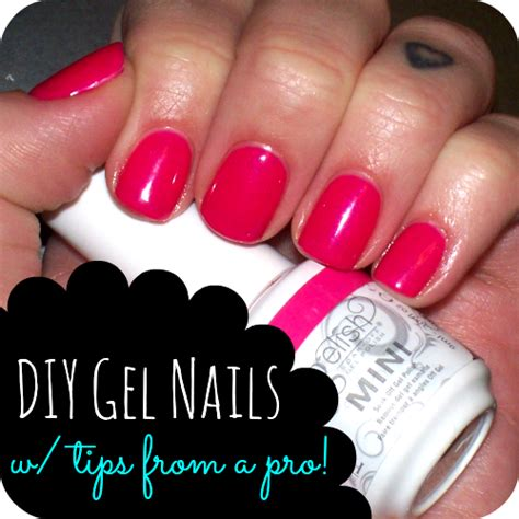 lulu sweet pea diy gel nails at home