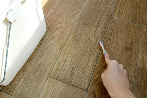 install wood look tile no grout removing grout the easy way chris