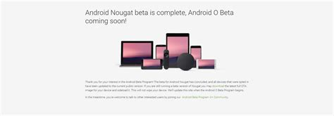android beta google started android o beta developers preview