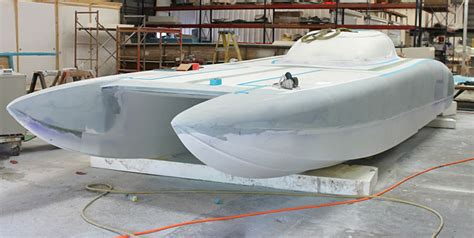 gary ballough boat racing doug wright preps latest 32 foot cat