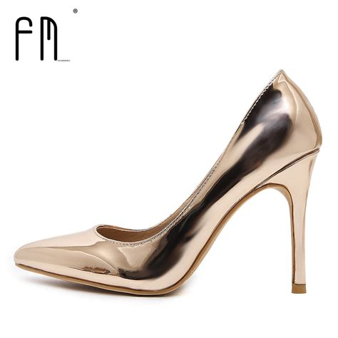 Leather Wedges Shoes 9 Cm 299 fedimiro 9 5cm high heel shoes pumps dress shoes thin heels pointed toe