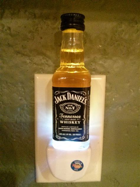 jack daniels bathroom jack daniels mini liquor bottle led night light caves