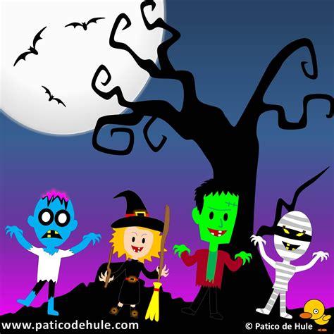 imagenes de halloween infantiles canci 243 n de halloween para ni 241 os patico de hule