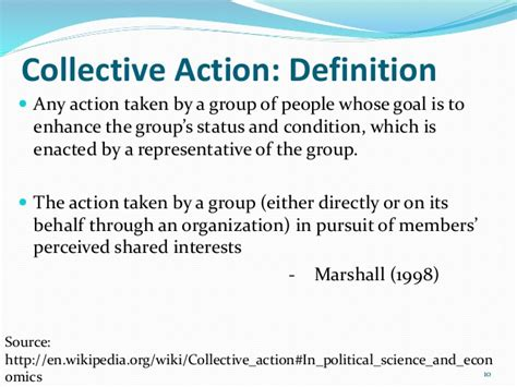 collective biography definition collective action in natural resource management