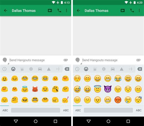 how to turn on emojis on android image gallery iphone emojis on samsung