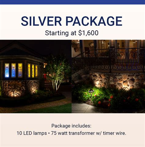 landscape lighting packages westchester ny pro
