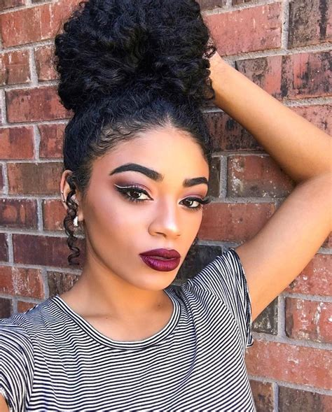 black hairstyles updos for prom bun hairstyles for prom black woman bun hairstyle for