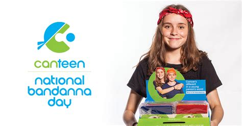donate to support national bandanna day canteen australia