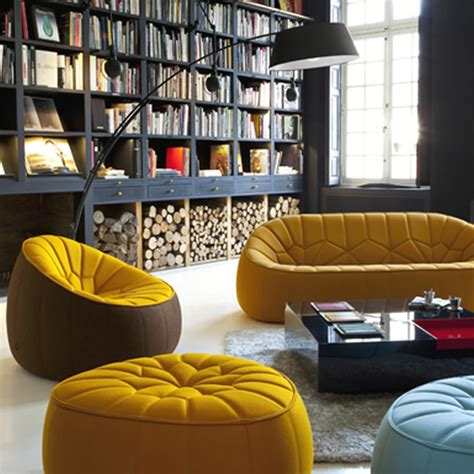 Home Interior Design With Modern Ottoman Furniture By