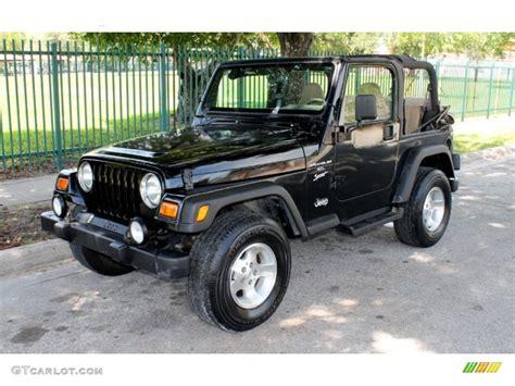 Black Jeep Wrangler Used 2001 Black Jeep Wrangler Sport 4x4 66681128 Gtcarlot
