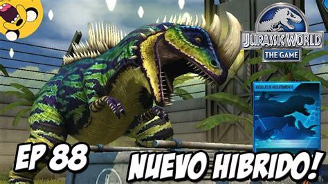 imagenes reales del juego nuevo hibrido y reclutamiento dino jurassic world
