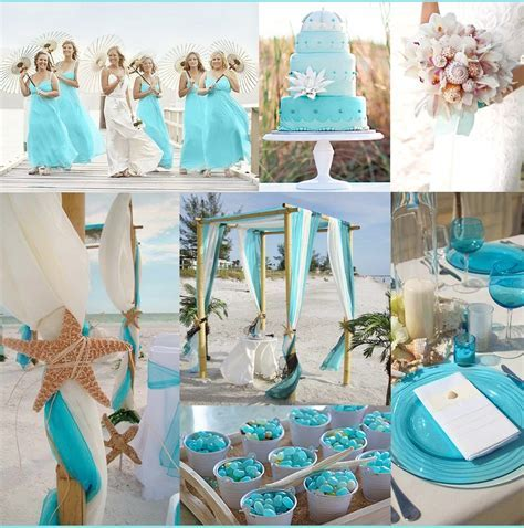 Turquoise Beach Wedding Ideas ? Bridalore