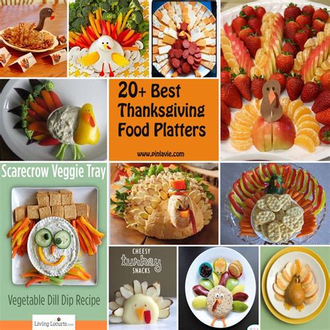 20 best thanksgiving food platters for kids a little