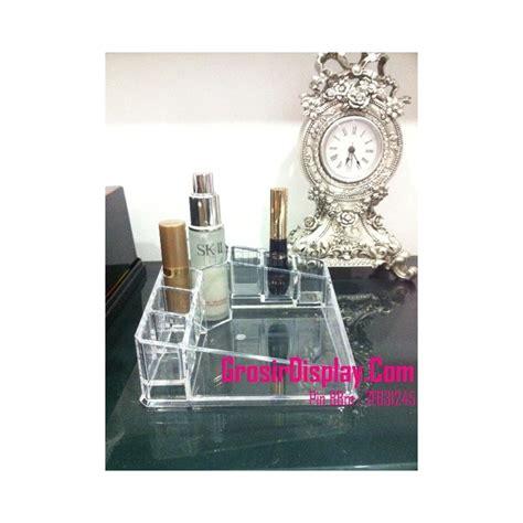 Akrilik Acrylic Tempat Lipstik Kosmetik display kotak tempat kosmetik aksesoris perhiasan lipstik kutek grosir display