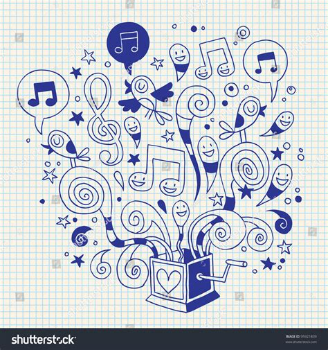 doodle box vector free box doodle stock vector illustration 95921839