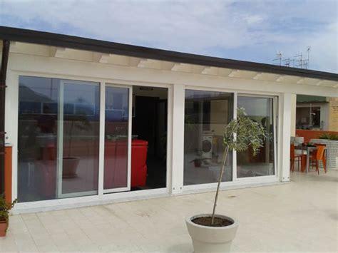veranda in alluminio verande alluminio pvc palermo nc porte e finestre